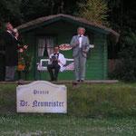 """Als Striese in """"Raub der Sabinerinnen"""" 2010 Darß-Festspiele"""