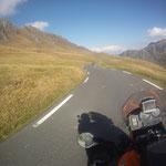 Abfahrt vom Col du Tourmalet