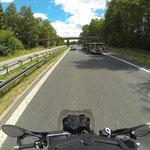 Kilometerfressen auf der A 93