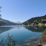 Der See von St. Moritz....