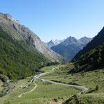 Trasumhafte Bergkulisse