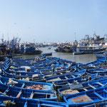 Geschäftiges Treiben im Hafen