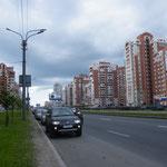 In den Aussenbezirken von Sankt Petersburg