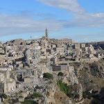 Matera - die Sassi (Felsen)