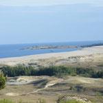 Traumhafte Ausblicke über die Sandünen
