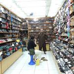 Schuhkauf mit intensiver Beratung