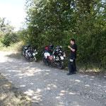 Päuschen kurz vor der bulgarischen Grenze