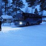 Unser Bus - üppig für 10 Leute