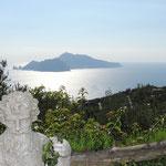 Blick hinüber nach Capri