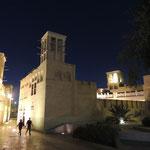 Nachts im Bastakyia-Viertel