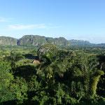 Ein letzter Blick zurück ins Vinales-Tal