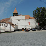 Kirchenburg in Miercurea Sibilui