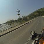 In Tokaj überqueren wir die Theis