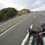 Entlang des Golfs von Taranto geht´s Richtung Nordosten