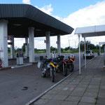 Die langersehnte Tankstelle
