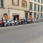 Parkverhältnisse wie in Rom