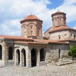 Sveti Naum nahe der albanischen Grenze am Ohrid-See