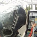 Lore´s vergeblicher Kampf mit dem Tankautomaten
