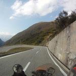 Runter geht´s Richtung Wallis