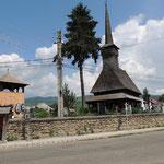 Eine der für die Maramures typischen Holzkirchen