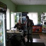 Die letzten Rubel wurden in Kaffee und Gebäck investiert