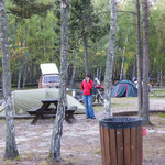 Zurück am Campingplatz
