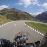 Talwärts Richtung Andermatt