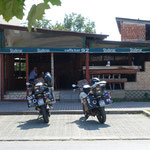 In Kroatien angekommen gab es erst Mal einen Kaffee-Stop