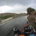 Heute sahen wir den Regen als willkommene Erfrischung an...