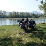 Auf der anderen Flußseite liegt bosnien-Herzegowina