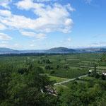 Der Blick zurück zum Kastoria-See