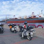 Am Hafen von Ventspils