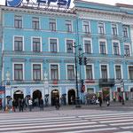 Eingagn zur Metro am Nevsky Prospekt