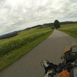 Nur ein paar Kilometer bis Frymburk