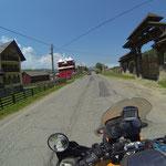 Unterwegs zum ersten Moldaukloster