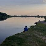 Abendstimmung am Dnepr