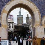 Hier geht´s in die Medina