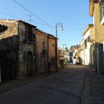 Hauptstraße von Castelnuovo Cilento