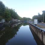 Canal du Centre in Monteaux les Mines