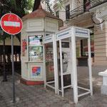 bei uns schon fast vergessen - Telefonzelle und Kiosk