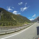 Stau am Brenner