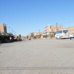 Die Hauptstraße von Merzouga