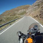 Die letzten Meter in Andorra...