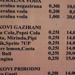 Sogar Pipi gibt´s hier zu trinken ?