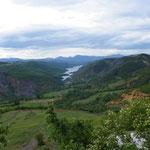 120 KM Kurven durch die Berge