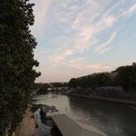 Abendstimmung am Tiber