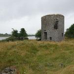 Tawnagh Mill - die Reste einer Gezeitenmühle