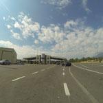 Grenzübertritt nach Montenegro - die Erste