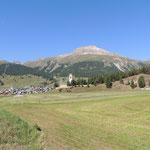 Kurz vor St. Moritz