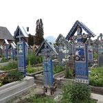 Lustiger Friedhof von Sapanta...